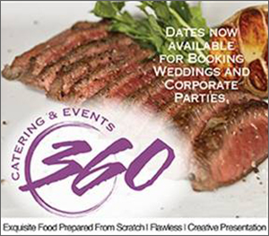 360 Catering and Events Banner Ad